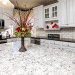freshly painted white kitchen
